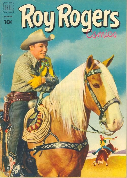 Original price on this 1960 Roy Rogers comic book was 10¢.