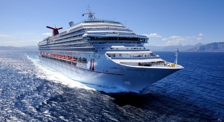 The Carnival Splendor was supposed to sail for San Francisco.