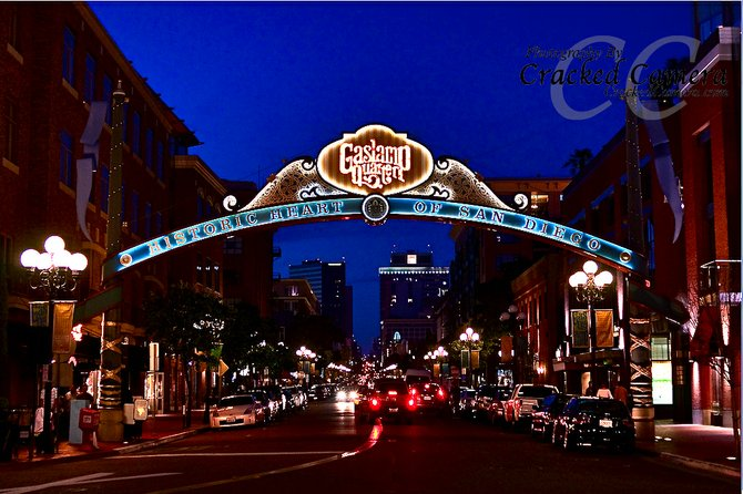 The Iconic Gaslamp Sign