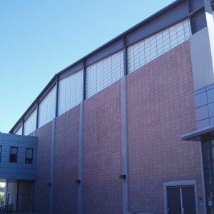 The Miramar College gym.