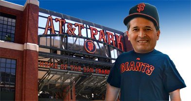 Phone giant AT&T picks up the tab for Vargas's trip to the ballpark.