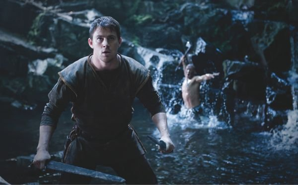 As the hero in The Eagle, Channing Tatum has the firm-jawed look of meat with a mission.