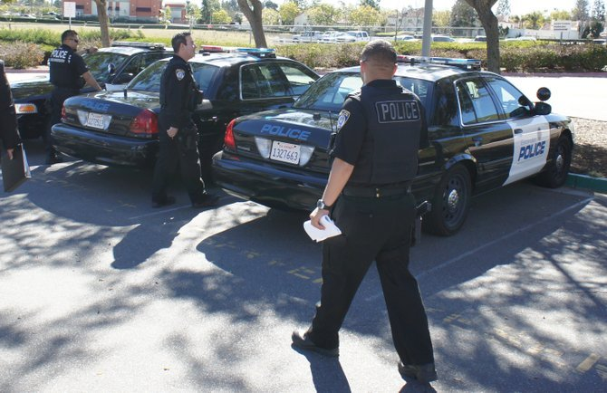 Escondido police apprehended three teens for stabbing a 20-year-old bicyclist.