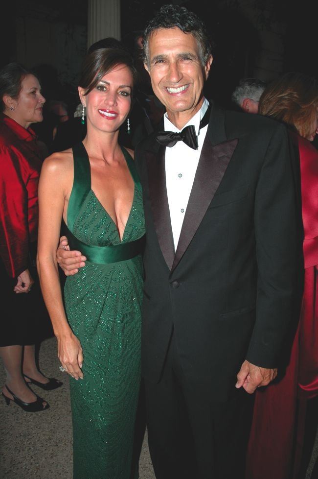 Investor Charles Brandes, with third wife Tanya, has seen money under his management drop dramatically.