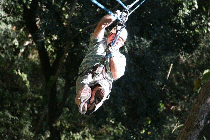 Canopy Zip Line in Tropical Puerta Vallarta.