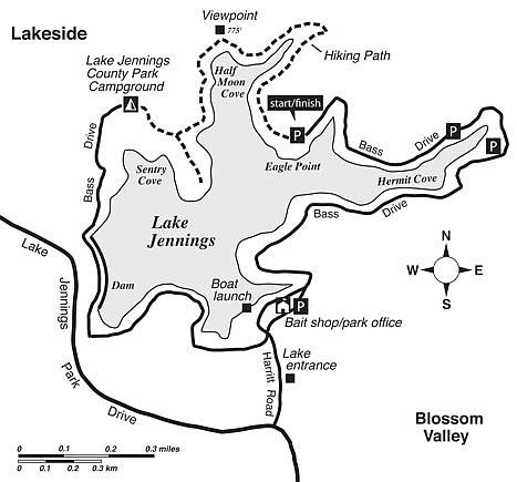 lake jennings campground map Lake Jennings San Diego Reader lake jennings campground map