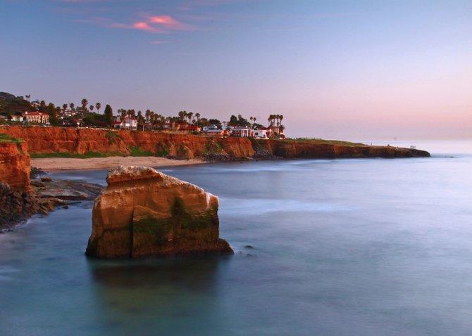Just after sunset, Sunset Cliffs OB
