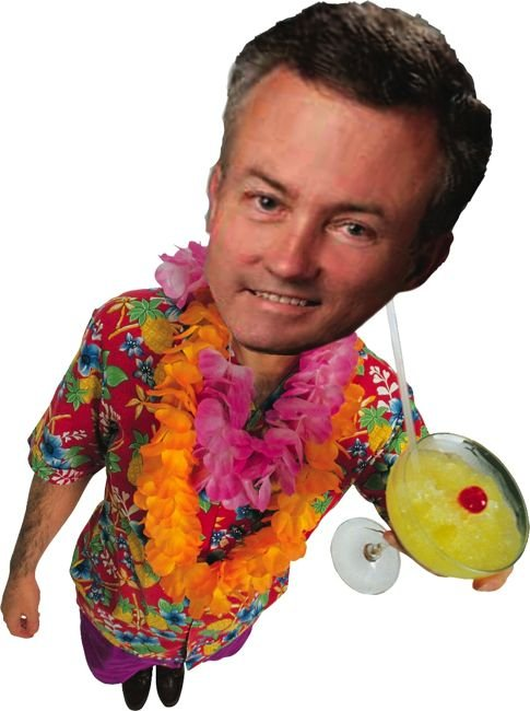 Assemblyman Martin Garrick partied in Maui for free.