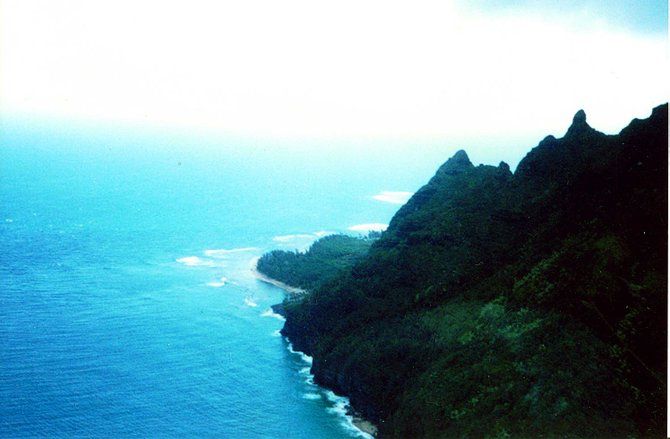 This photo was taken in Kaui, Hawaii. One of the most beautiful places I have ever been in my life!