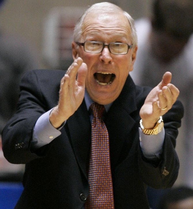 The missing link — San Diego State head basketball coach Steve Fisher