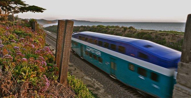 Train sighting Del Mar