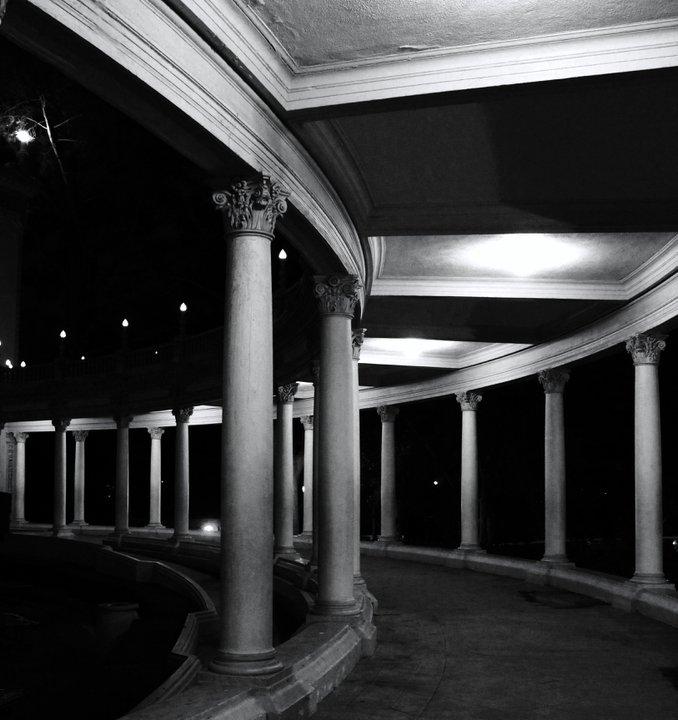Balboa Park at Night.