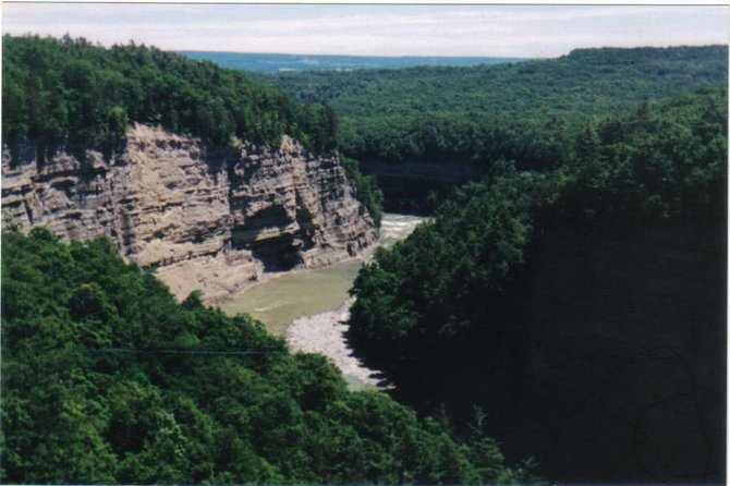 "Letchworth State Park, ""The Grand Canyon of New York State."""