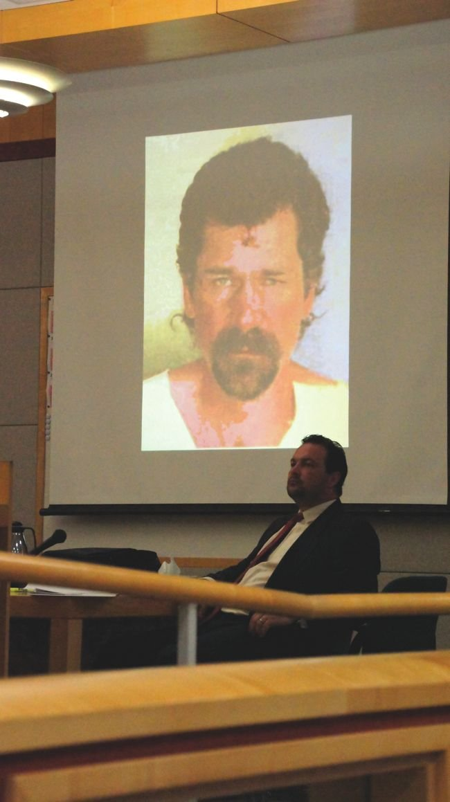 Eric Andreasen (in photo) was determined to be mentally ill, though able to tell right from wrong.