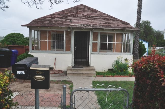 Redevelopment is focused downtown, complains Henry Rodriguez, former pastor at St. Jude Shrine, which sits in the same neighborhood as this house at 32nd and Martin.