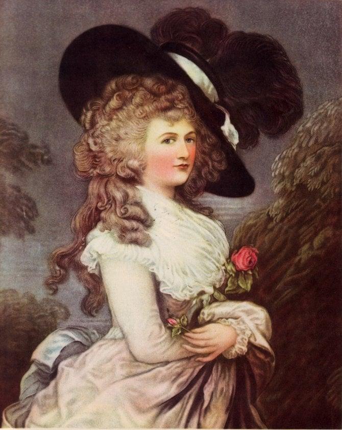 Georgiana Cavendish, Duchess of Devonshire, 1787