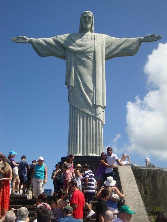 A photo of Cristo Redentor (statue of Jesus Christ in Rio De Janeiro, Brazil)