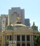 Photo of Teatro Municipal in Brazil.