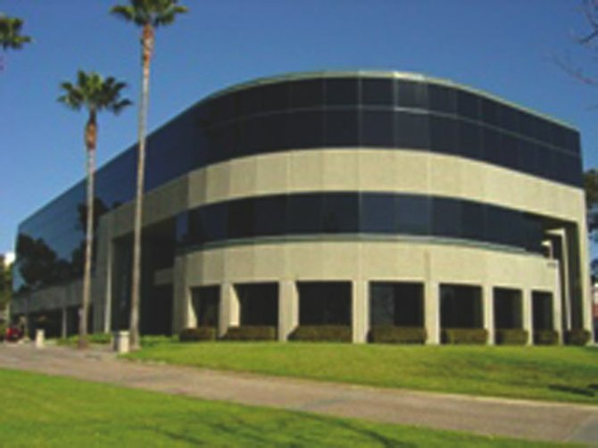 The Sorrento Valley headquarters of WFP Securities, the brokerage house under fire for putting clients into high-risk, speculative investments.