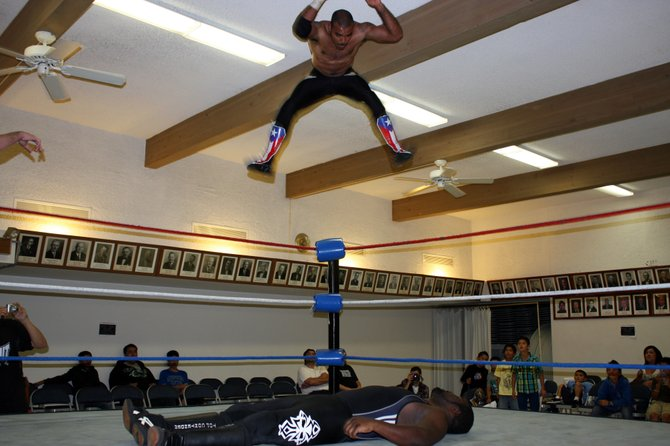 Pro wrestling took over the Unity Lodge for one night in September of 2010.