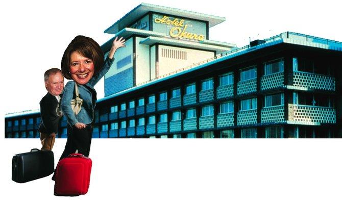 Susan and Steve Davis love free luxury travel.