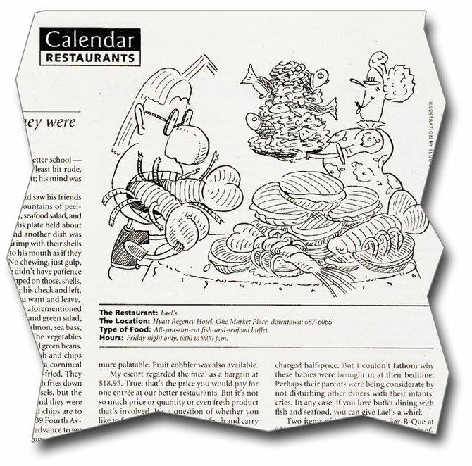 April 25, 1996: restaurant review