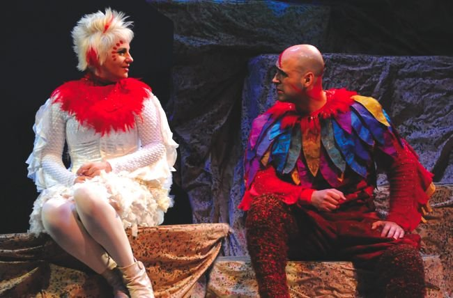 Actors Season Marshall Duffy and Lance Arthur Smith, in The Book of the Dun Cow, showcase choices and slowly set the stage.