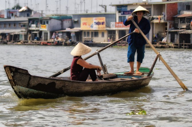 On the way to the floating market in Cai Be, Vietnam