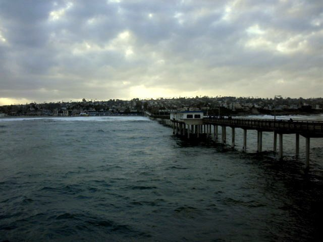 View from OB Pier.