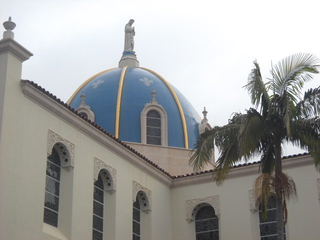 Immuculata Church on USD campus.