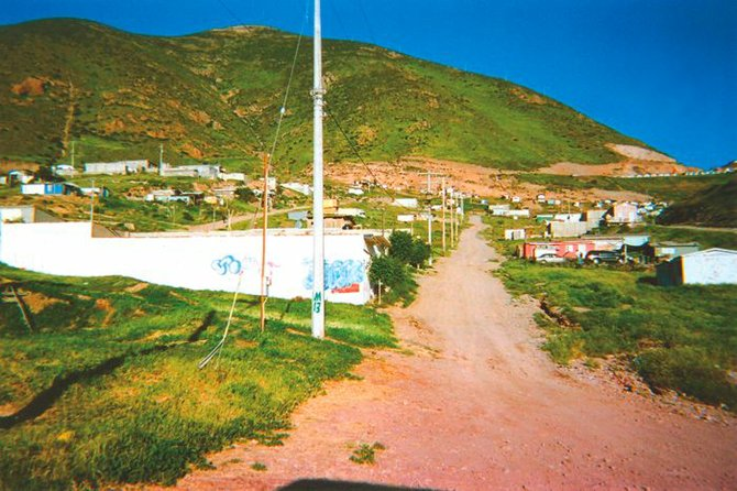 On the east side of Highway 2000, the Altiplano neighborhood is where undocumented immigrants are held prior to crossing the border.
