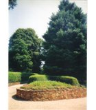 Gardens, Monticello, Charlottesville, VA.