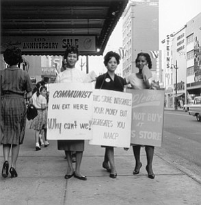 NAACP Protest, Main Street, Memphis, TN, Early 1960s, Ernest Withers