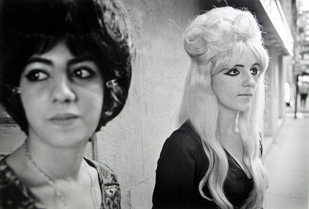 The Combat Zone, Two Girls on Washington Street, 1968, Jerry Berndt