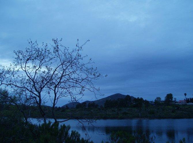 Dusk at Lake Murray.