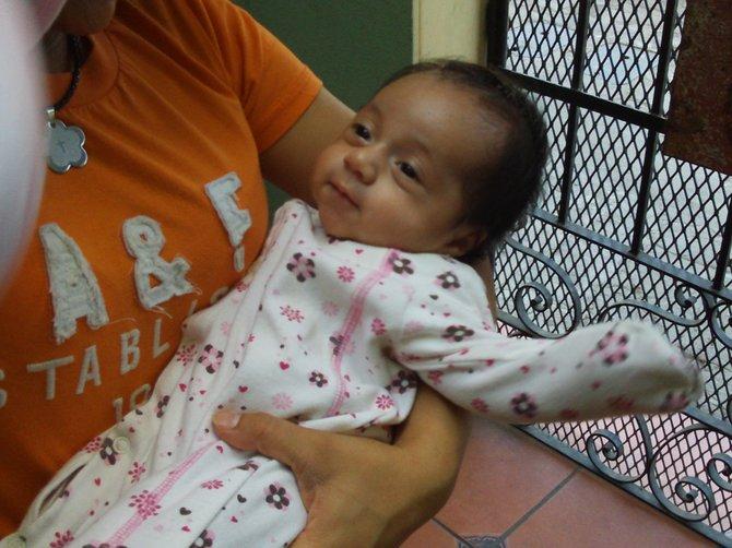 A baby is born in Tijuana.