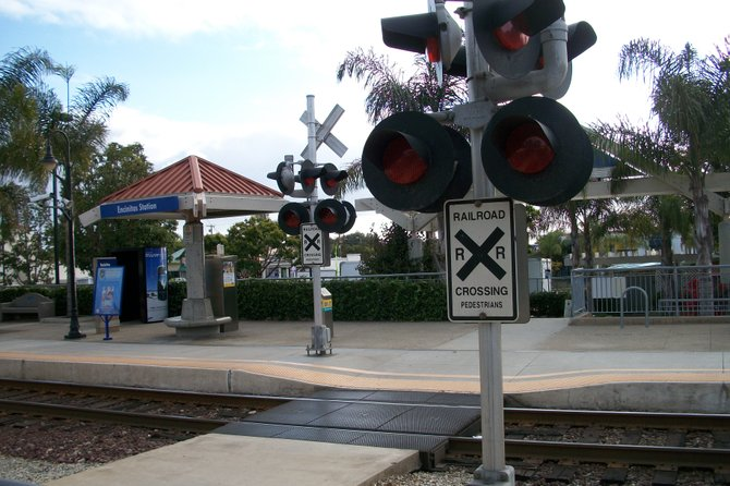 Encinitas plans to forego pedestrian crossings like this and build a $4.5 million tunnel.