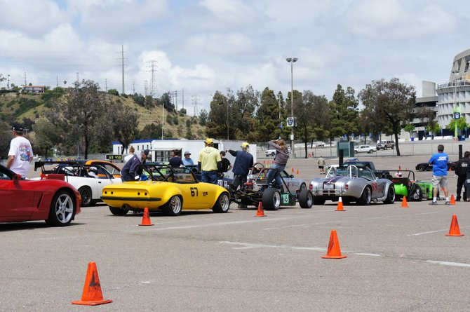 Right next door to RiverFest: Boom! SCCA Solo Event. (Autocross).