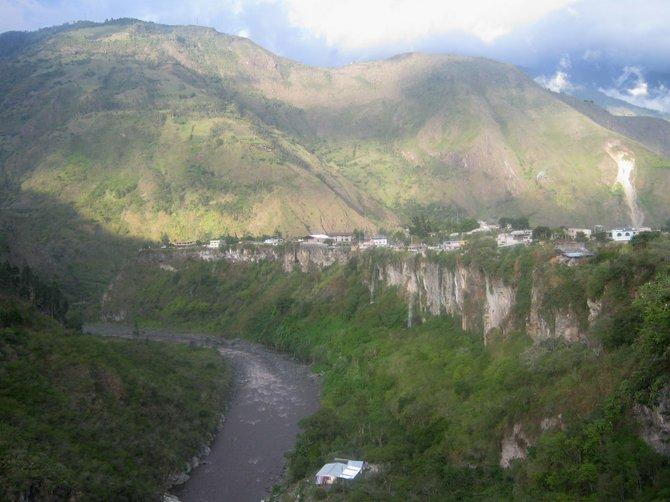 Town of Baños