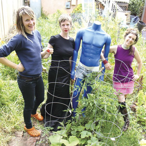 The Roost, a garden cooperative, had to give up  their backyard chickens due to neighbor complaints.