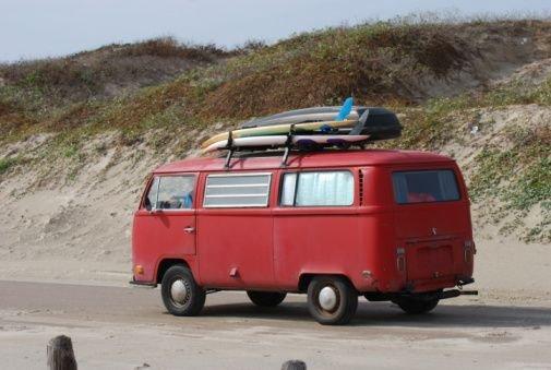 Baja surf trip in Vanagon
