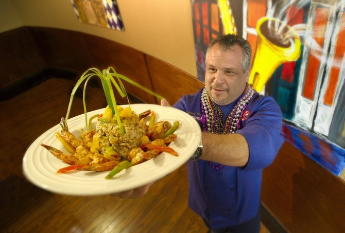"San Diego–raised, Top Chef–winning Frankie ""the Bull"" Terzoli offers up jambalaya — ""a wow"" — at Proud Mary's."