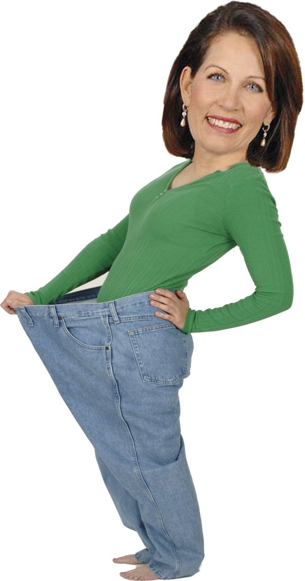 Michele Bachmann's happy to take Jenny Craig's money.