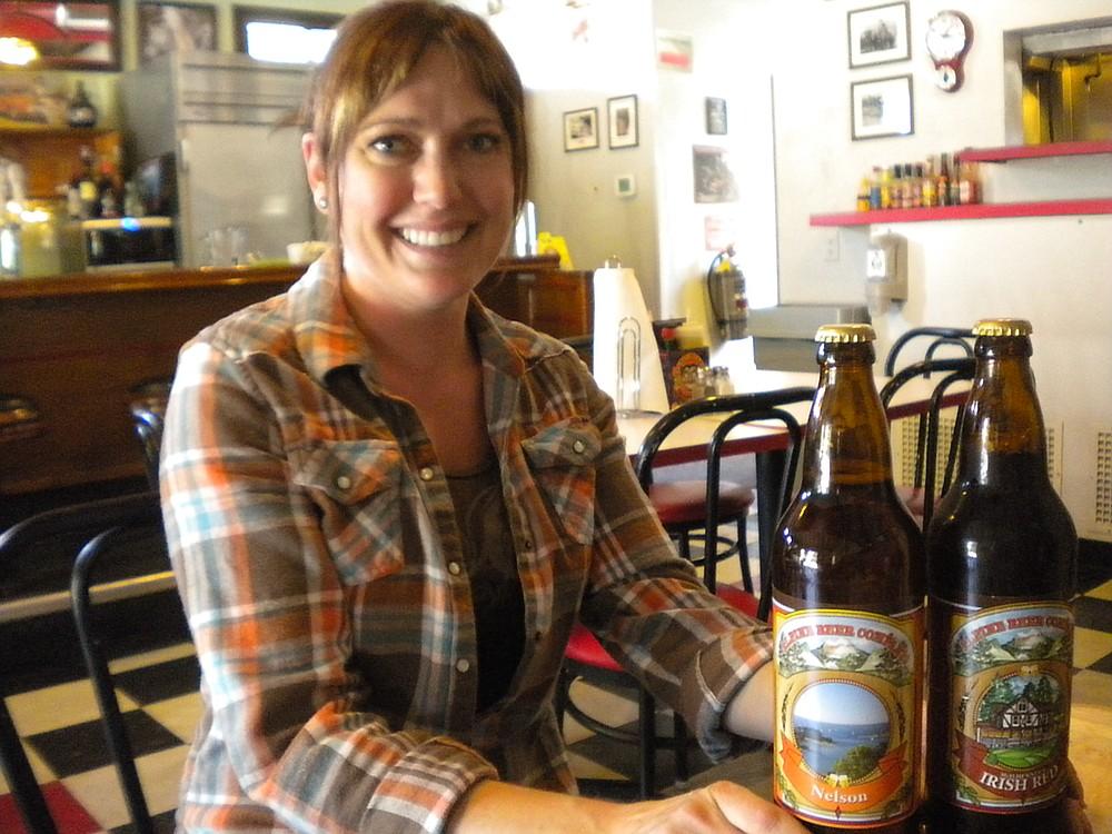 Danielle Faught, pub manager, walking beer encyclopedia