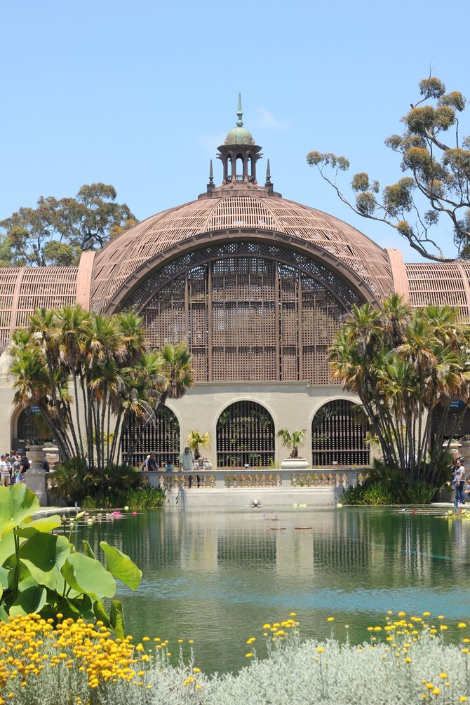 The Botanical Gardens in Balboa Park.