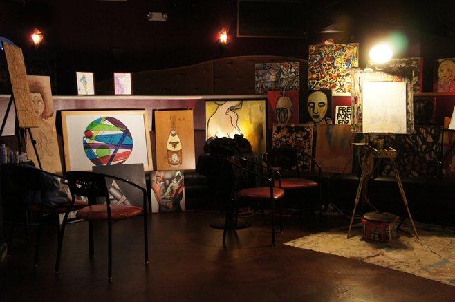 Onyx Spectrum Thumbprint Art Show photo