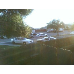 6:00am, Thursday Oct 28th, 2010, I wake up to about 26+ cop cars outside my apartment along Meadowbrook Drive.  This apparently after a drug bust/parolee check-gone wrong, the night before, which resulted in an officer being shot and killed.
