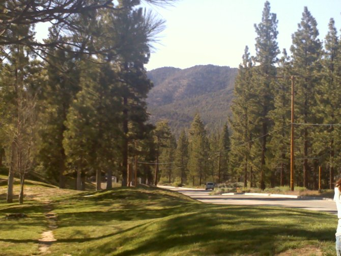 A small view of Big Bear CA. Family retreat.