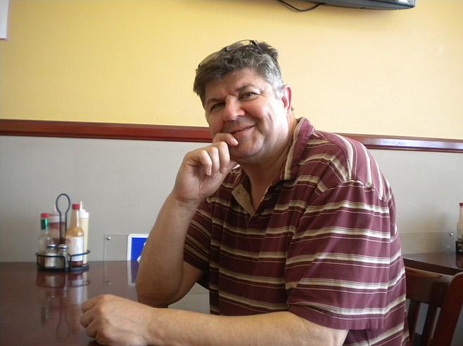 Jamal, the owner. The restaurant's namesake is his son Ryan.