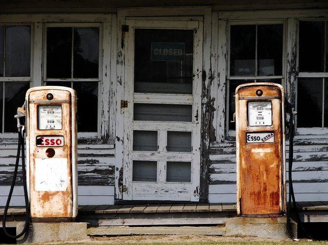 Gas station - Cape Hatteras